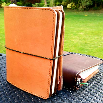 Sunday LEather Craft Traveler's Notebook